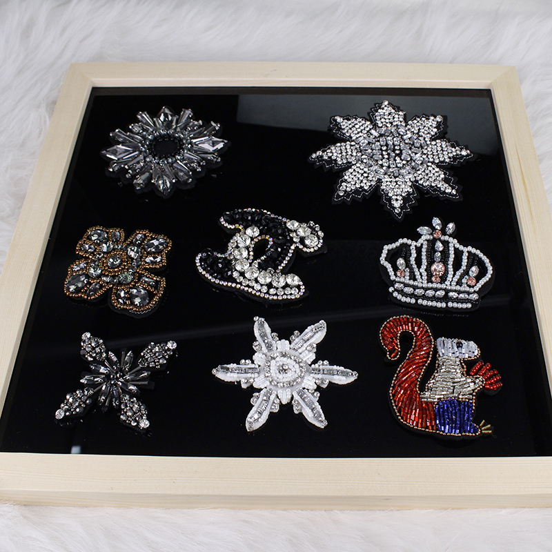 5piece New hand nail bead 3D patch clothing shoes and hats