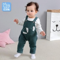 Autumn and winter infants onesies baby boys and baby girls cartoon fox romper baby autumn and winter suit