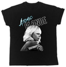 Atomic Blonde T-Shirt Charlize Theron The Movie Unisex Tshirt 2018 Hot Sale New Men'S T Shirt Cheap Sale 100 % Cotton