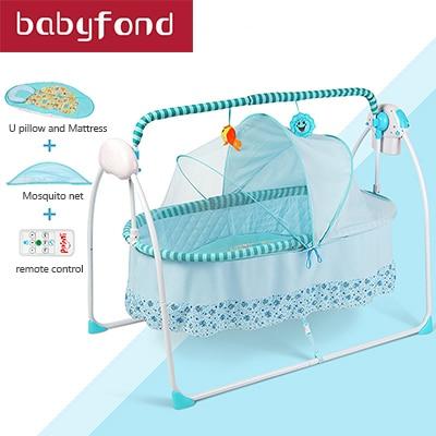 balanco do bebe funcation auto berco cama recem nascido
