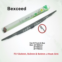 Bexceed of Car Windshield Traditional scania Truck and Bus wiper blade For BENZ FIAT MAN RVI OPEL VOLVO SMIT SCANIA
