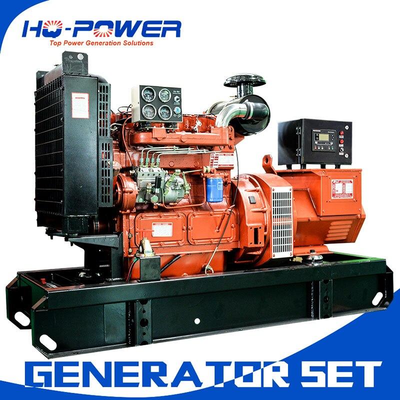 30kw alternator 37.5 kva generator water cooling open frame generation