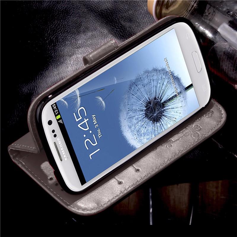 Dla iphone 7 plus 4S 5S 4 5 6 s skórzane etui z klapką case do samsung galaxy a3 a5 j3 j5 2016 j1 s6 s7 s3 s4 s5 mini grand prime pokrywa 43