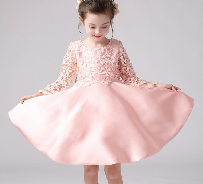 2017 kids wedding dresses for girls vest lace birthday party 2017 kids wedding dresses for girls vest lace birthday party princess christmas costume children toddler elegant vestido infanty in dresses from mother junglespirit Images