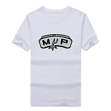 2017 newest Kawhi Leonard San Antonio MVP Short Sleeve T-shirt Tee 100% Cotton fans T shirt 1119-3 free shipping