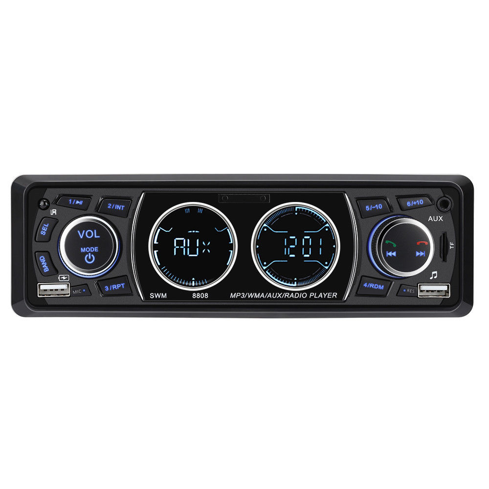 Hifi-player Hifi-geräte Diszipliniert Mp5 4,1 Zoll 1 Din Radio Audio Stereo Aux Fm Radio Station Bluetooth Autoradio Mit Rück Kamera Remote Contro