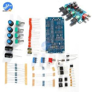 Image 1 - NE5532 Preamp amplifikatör kurulu DIY kitleri ses kontrol panosu tiz orta kademe bas DIY çift AC 15 V Modulo Amplificador