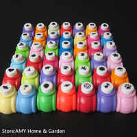 42 Style Random sent DIY Mini Craft Punch for Scrapbooking Punch Handmade Cut Card Hole Puncher For DIY Gift Card Paper Punch