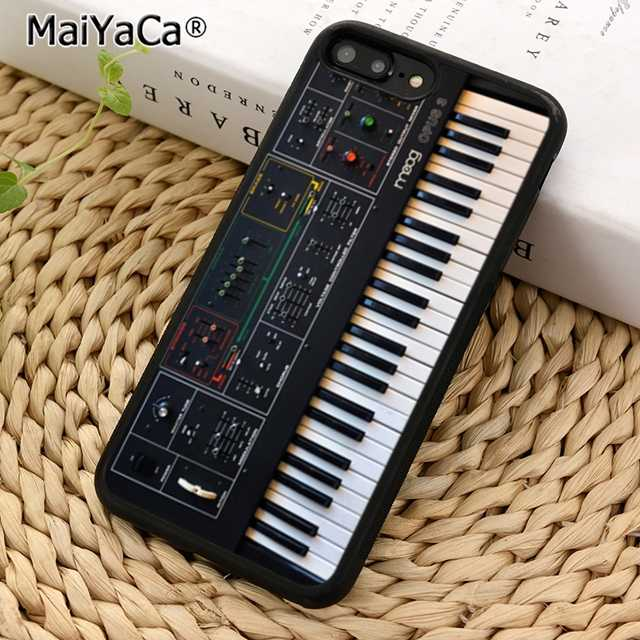 MaiYaCa Synth Synthesizer Phone Case Cover for iPhone 5 5s SE 6 6s 7 8 X XR XS max samsung galaxy S5 S6 S7 edge S8 S9 Plus