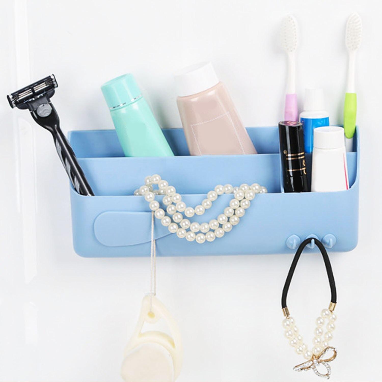 Dual Layer Space Aluminum Bathroom Shelf Shower Shampoo Soap ...