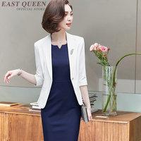 Interview suits luxury female noble ladies business office uniform designs women social ceremony festival dress suit AA4104