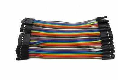 40 PCS DuPont line แม่แม่และพ่อแม่สาธารณะ 40 P สีสายแถว 40 10/20/30 ซม. 2.54 มม.