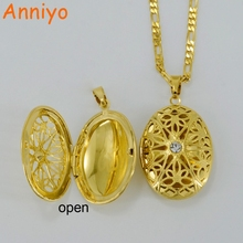 Stamp Allah Pendant & Necklaces for Women/Men Gold Color Islam/Muslims Jewelry The Arabs Chain W/Rhinestone  #049202