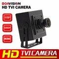 """Boavision 1/3 """"CMOS de 2MP HD TVI Camera 720 P Mini Tamanho 0.01 Lux Lente de 2.8mm CCTV Câmera De Segurança De 2MP de Trabalho Para TVI DVR"""