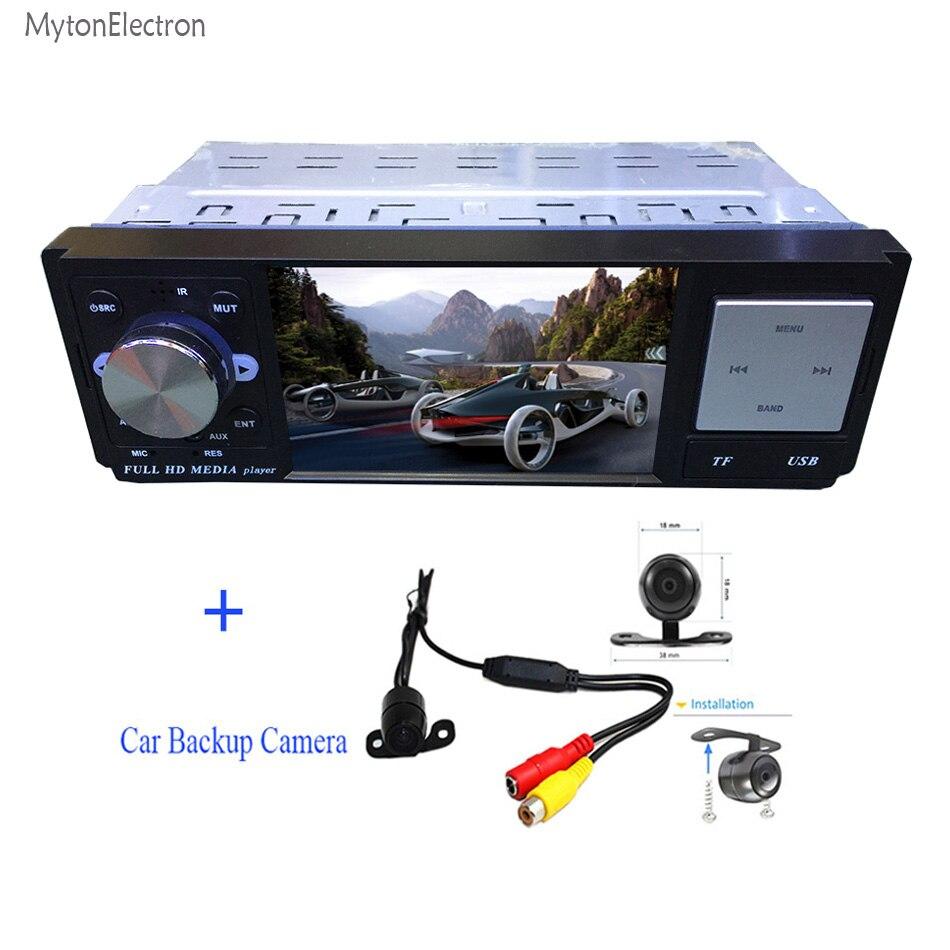 Rear Backup Camera Waterproof 3 6 Inch Screen Car Radio Bluetooth