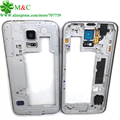 10pcs New S5 Middle Middle Frame For Samsung Galaxy S5 i9600 G900H G900F LCD Middle Housing Plate Frame Bezel Cover Case