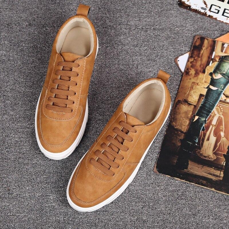 Black Grife Sapatos gray Primavera Mpx8116282 yellow Moda Marca Sociais Casual De Homens Couro xvFww