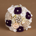 Romantic Bridal Bouquet Beautiful Wedding Accessory Hand Made Wedding Bouquet FW68