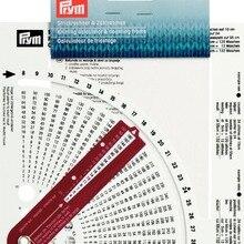 Prym 611735, вязание свитера, круглая ручка, счетная линейка