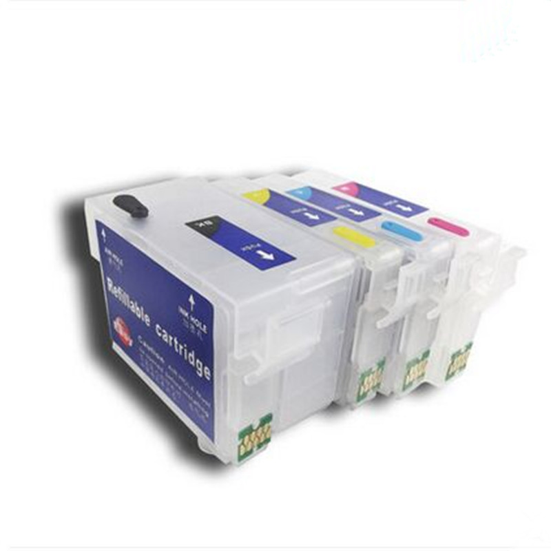 T2711 T2701 27XL Refillable ink cartridge for Epson Epson WorkForce WF 7110DTW WF 7610DWF WF 7620DTWF