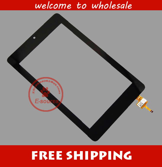 Black Touch Screen Digitizer Glass For Acer Iconia One 7 B1-730 B1 730 B1-730hd for free shipping for new touch screen digitizer glass replacement acer iconia tab b1 710 b1 710 b1 711 b1 711 7 inch black free shipping