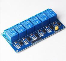 5V 6 Channel Relay Module with light coupling for Arduino PIC ARM DSP AVR Raspberry Pi