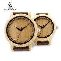 BOBO BIRD B170 Ladies Casual Quartz Watches Natural Bamboo Watch Face Women S Brand Unique Watches