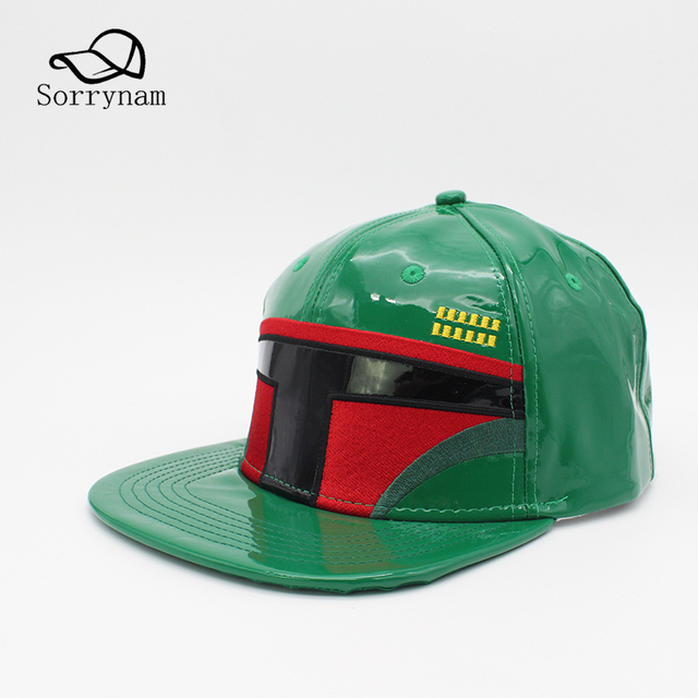 Star Wars PU Leather Adult Snapback Cap Boba Fett Clone Troopers Casual Hip  Hop Hat Baseball Caps for Women Gorras and Men ff2f32bbee7