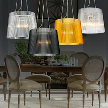 Ecolight Modern Pendant Light Colorful Arcrylic Shades E26 E27 Pendant Lamp for Dinning Room Loft Light