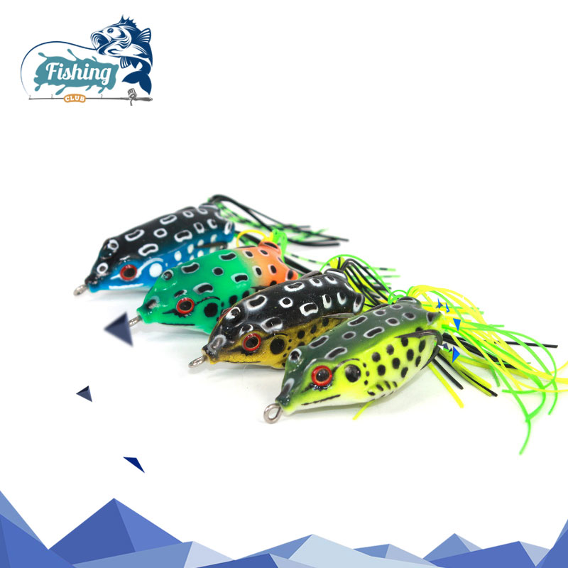 1PCS Fishing Lure Frog Swim Bait Soft Lure Frog Sound 5cm 10.5g Silicon Artificial fishing tackle Sea Mix fishing lure Frog 6 pcs set 4cm 6g fishing tackle minnow lure crank mix bait frog lures fishing crankbait frog soft lures iscas