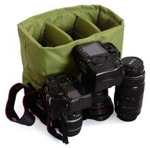 лучшая цена CAREELL 9906 Storage Bag Camera Bag Canvas Large Capacity Photography Accessories For SLR Cameras Shockproof C3050