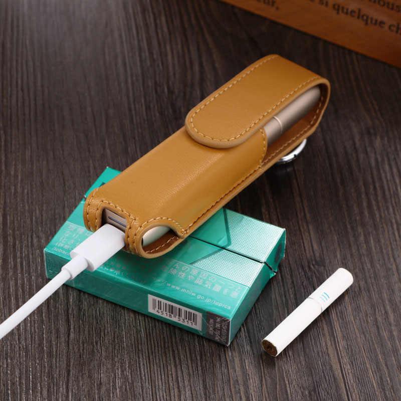 良質のケース IQOS 3 マルチ IQOS ためタバコ電子蒸気を吸うアクセサリー保護カバーバッグ Pu レザーケース