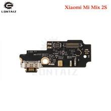 цены на for Xiaomi Mi Mix 2S USB Charger Flex Cable Charging Dock Connector PCB Board Port Ribbon Flex Cable for Mi MIx2S Repair Parts  в интернет-магазинах