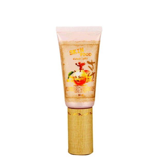 Causa Pêssego SKINFOOD Pore Pore BB Cream SPF20 PA + No. 2 30 ml Cosméticos Coréia