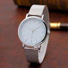 2019 Newest Fashion Casual Women Quartz Wristwatches Stainless Steel Thin Wire Mesh Watch band New Timepiece Watches