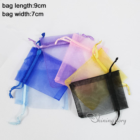 Whole Organza Jewelry Pouches Small Gift Bag Mix Color Bags Fancy Drawstring In Packaging Display From
