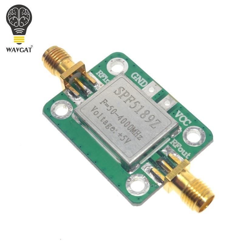 WAVGAT Arrival LNA 50-4000MHz SPF5189 RF Amplifier Signal Receiver For FM HF VHF / UHF Ham Radio Module BoardWAVGAT Arrival LNA 50-4000MHz SPF5189 RF Amplifier Signal Receiver For FM HF VHF / UHF Ham Radio Module Board