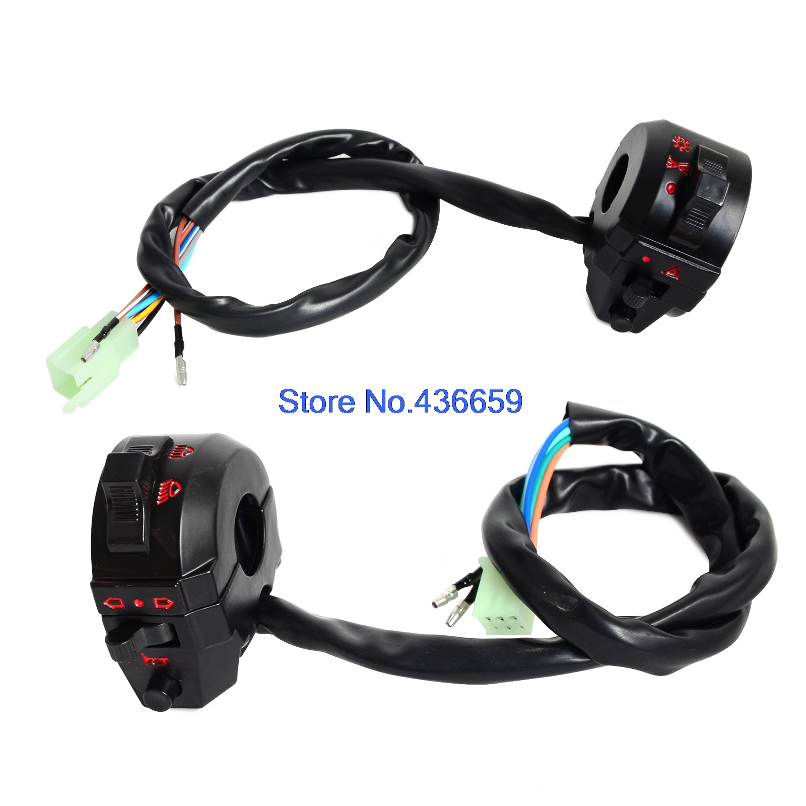 headlight switch motorcycle parrot ck3100 wiring diagram 7 8 quot handlebar horn turn signal