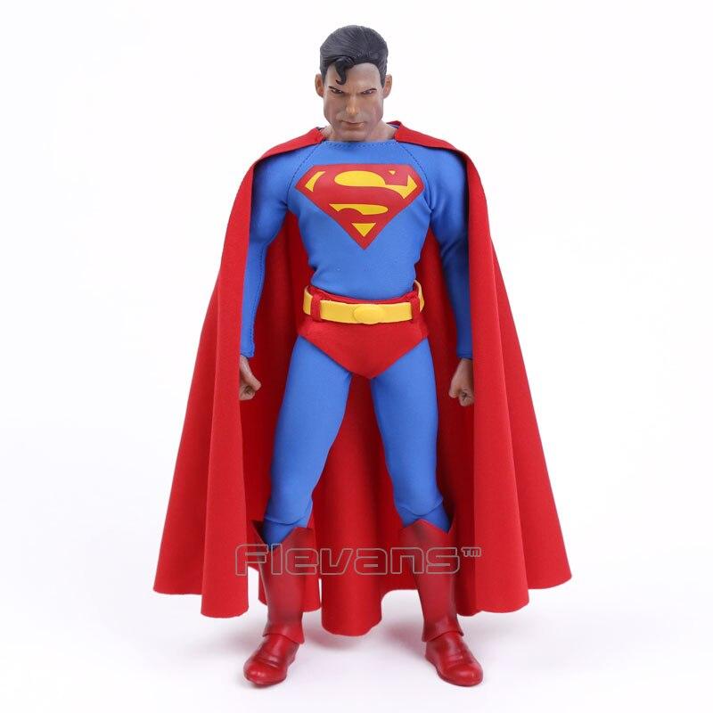 Brinquedos loucos superman 1/6th escala figura de ação colecionável 12