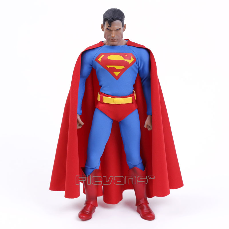 "Verrückte Spielwaren Superman 1 skala Action Figure Sammeln Abbildung 12 ""30 cm"