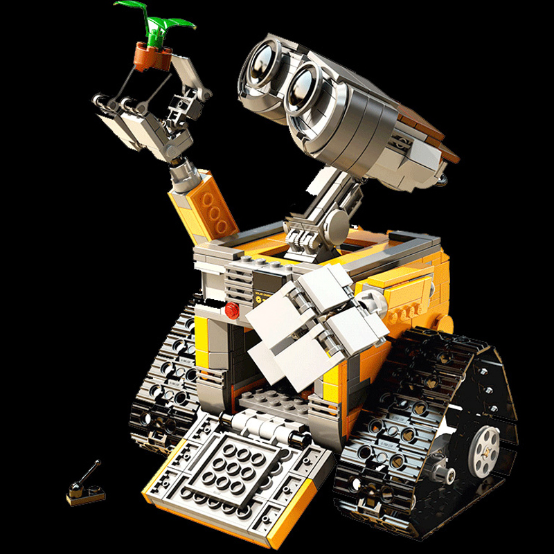 16003 Idea Robot WALL E Building Blocks Figures Bricks Blocks Toys for Children WALL-E Compatible with Lepin 21303 Kids Gifts lepin city town city square building blocks sets bricks kids model kids toys for children marvel compatible legoe