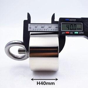 Image 5 - Neodym magnet N52 D60x40 Super starke runde magnet 250kg Seltene Erde stärksten permanent leistungsstarke magnetische eisen shell