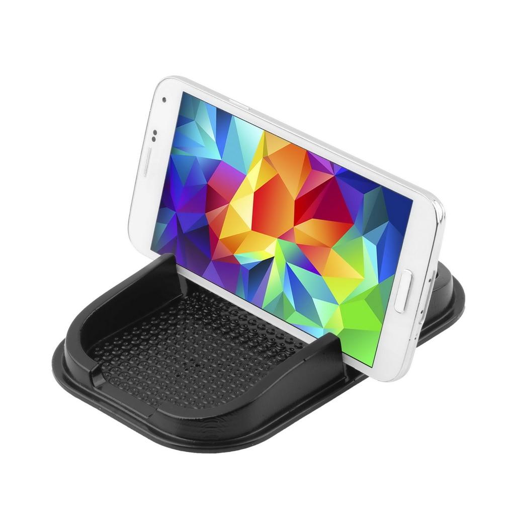 Car Anti Slip Pad Rubber Mobile Sticky Stick Dashboard Phone Shelf Non Mat For GPS MP3 DVR Holder