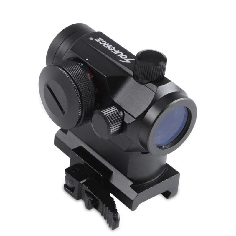 QD Visoka Crvena Zelena Točka Holografski Prizor Riflescope Brzo - Lov - Foto 3