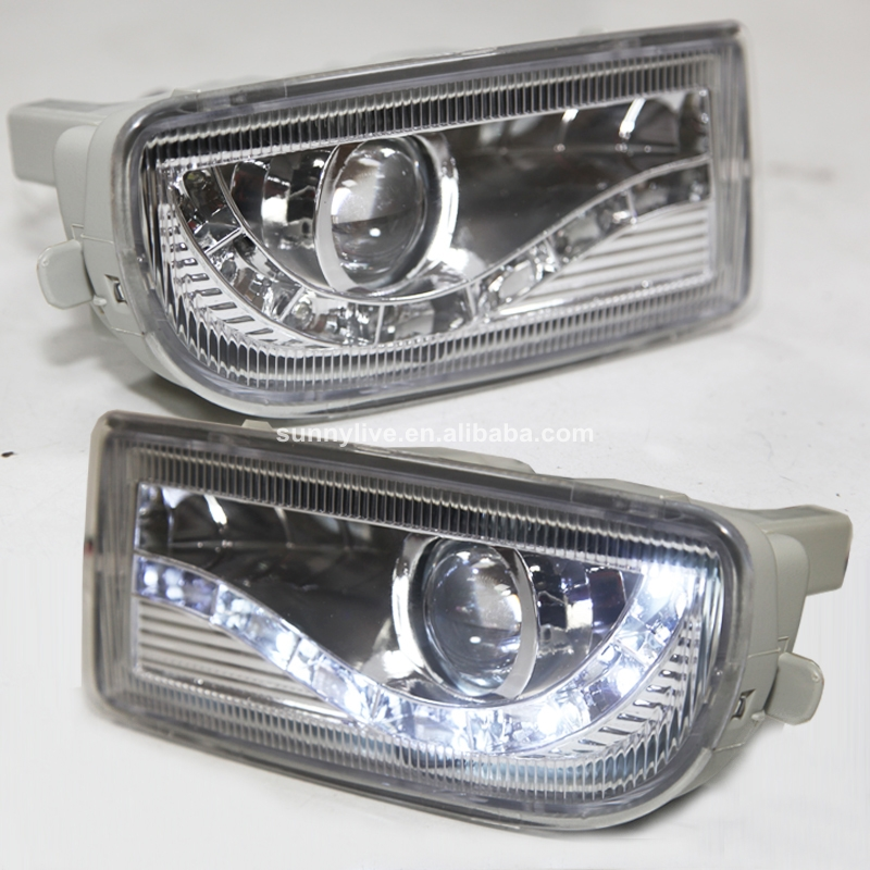 For Land Cruiser Led Front Bumper Light FJ100 FOG LAMP TY603-B90E2 1998-2005 Year for opel astra h gtc 2005 15 h11 wiring harness sockets wire connector switch 2 fog lights drl front bumper 5d lens led lamp