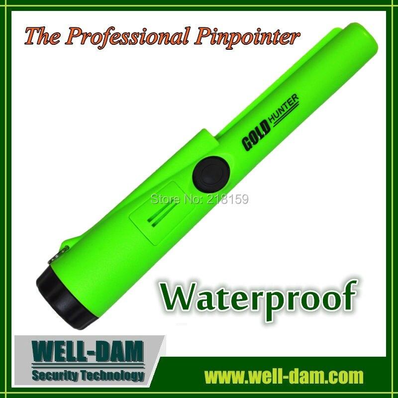 Полностью водонепроницаемый золота, Водонепроницаемый Pro-указатель, водонепроницаемый Pinpointer