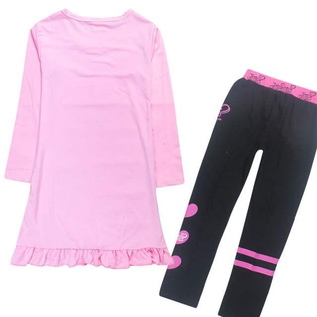 9a841c45a9 2018 Moana Children Girls Clothing sets siwa Trolls Kids Dress Children  Tracksuits For Girls Summer long Sleeve Cotton Pant