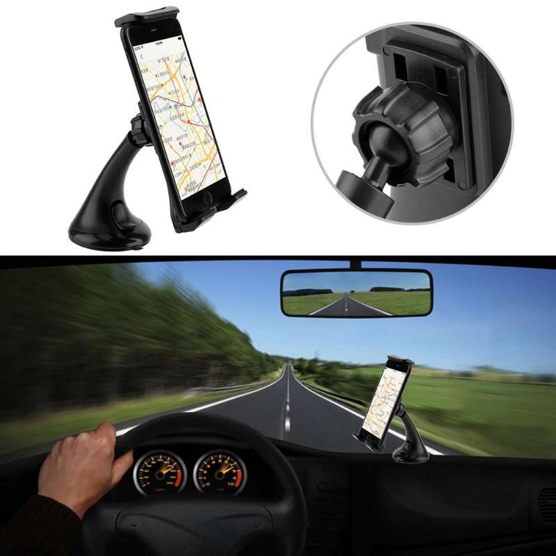 Vodool Универсальный автомобильный держатель телефона приборной панели автомобиля ratotable Soporte телефона Tablet навигатор держатель для Sumsung Huawei