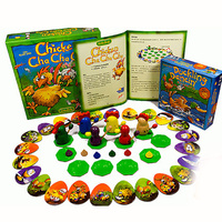 Chicken Cha Board Game 2 4 Players For Family/Party/Gift Best Gift Funny Card Game Entertainment Supplies