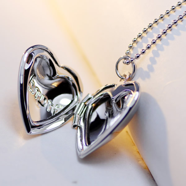 Charm Pendent Locket Necklace For Grandma 20